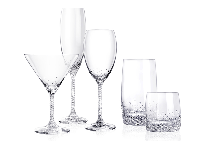 Kolekce skleniček Crystal Romance - Preciosa
