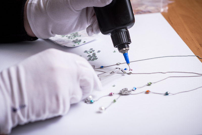 Lea - kompletování šperku - Preciosa