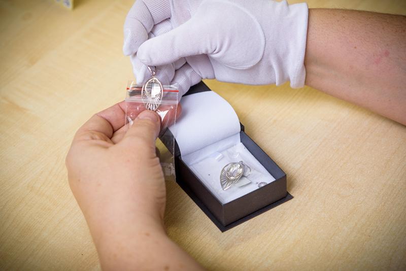 Orchid - balení šperku - Preciosa