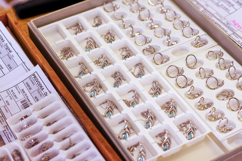 Penna - kompletace šperků - Preciosa