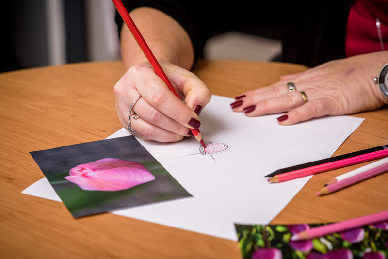 Rose - navrhování šperku - Preciosa